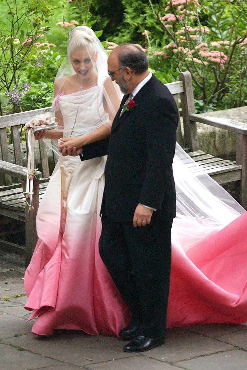 As Liberty Ross S Black Wedding Dress Is Revealed We Chart Our Favourite Colourful Brides Https