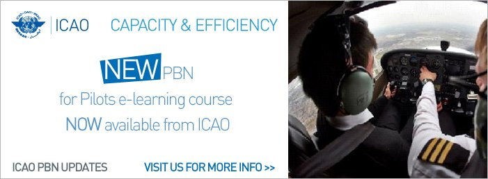 New PBN for Pilots e-learning course now available from ICAO