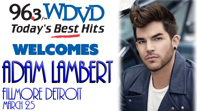 .@adamlambert at @FillmoreDetroit AND in Denver! Yes we did! https://t.co/vgu4S68JX3 https://t.co/POK36hqmBV