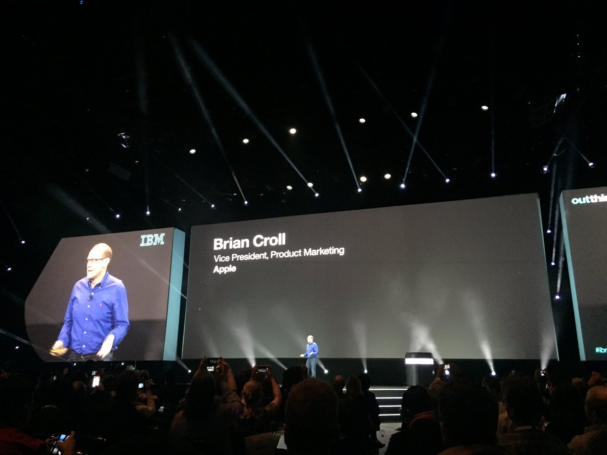 Big news! IBM partners with Apple to bring Swift programming language to hybrid cloud. #ibminterconnect https://t.co/NM1eOBH7O3