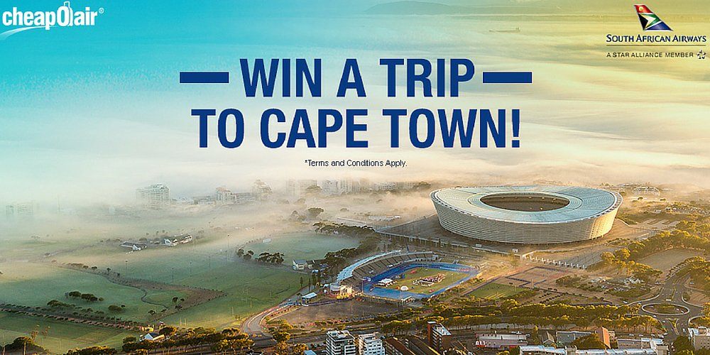 Enter to win a trip to Cape Town when you join our Twitter chat with @CheapOAir tomorrow! »