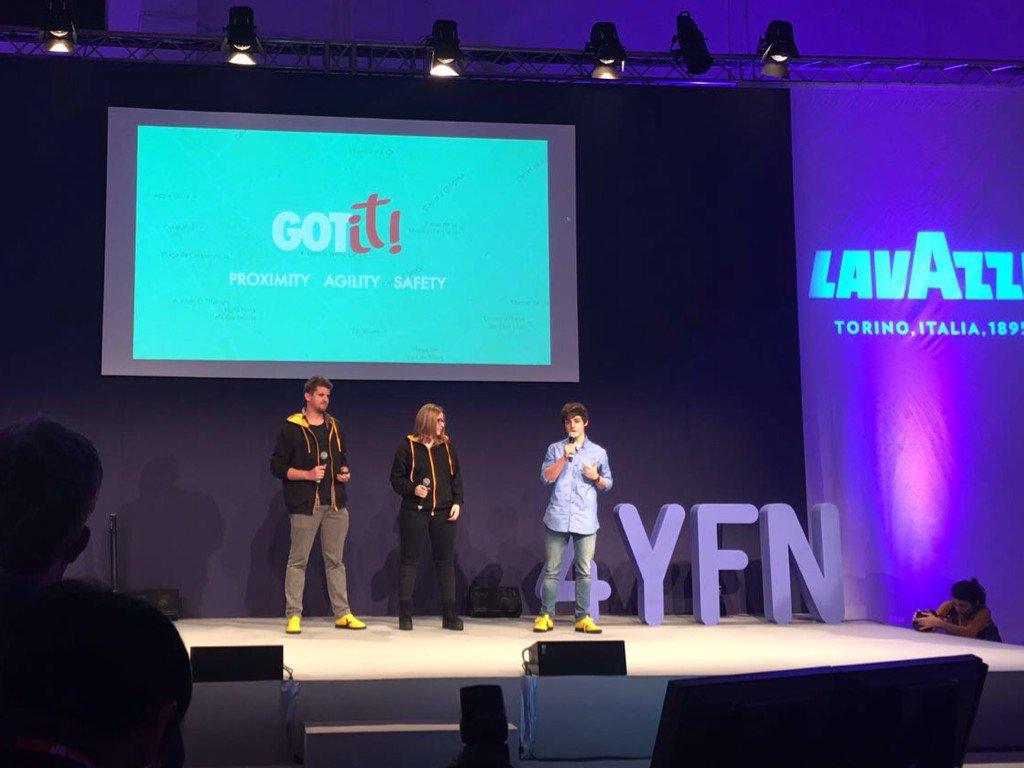 Congrats! Gran @gerard_sgs nuestro #dreamer en @imaginecc con @ItsPol529 @SilviaPociello y su #gotit #express2016 https://t.co/bn8IR0fAvV