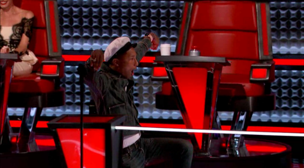 Exclusive: Pharrell is back to The Voice and ready to slay with his
