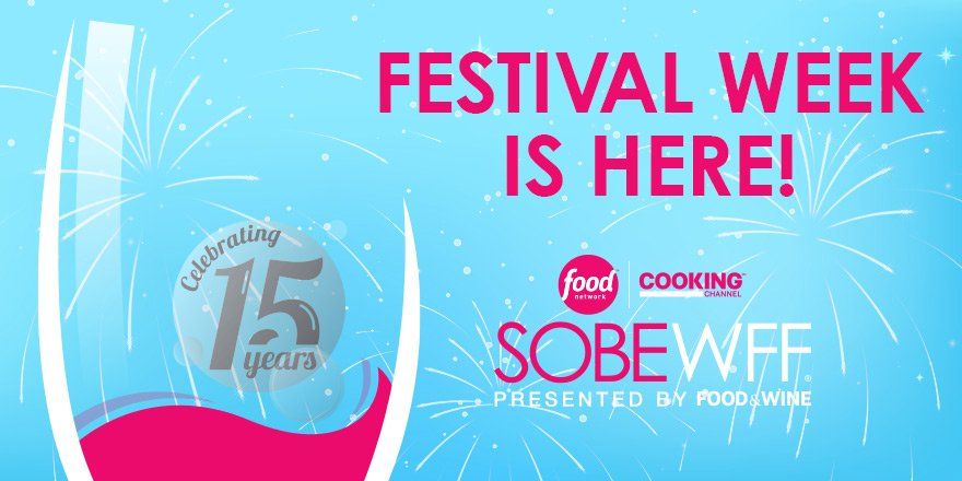 wow - 15 years of #SOBEWFF came up quick!  See you on the beach this week! https://t.co/HVxbrHFJft