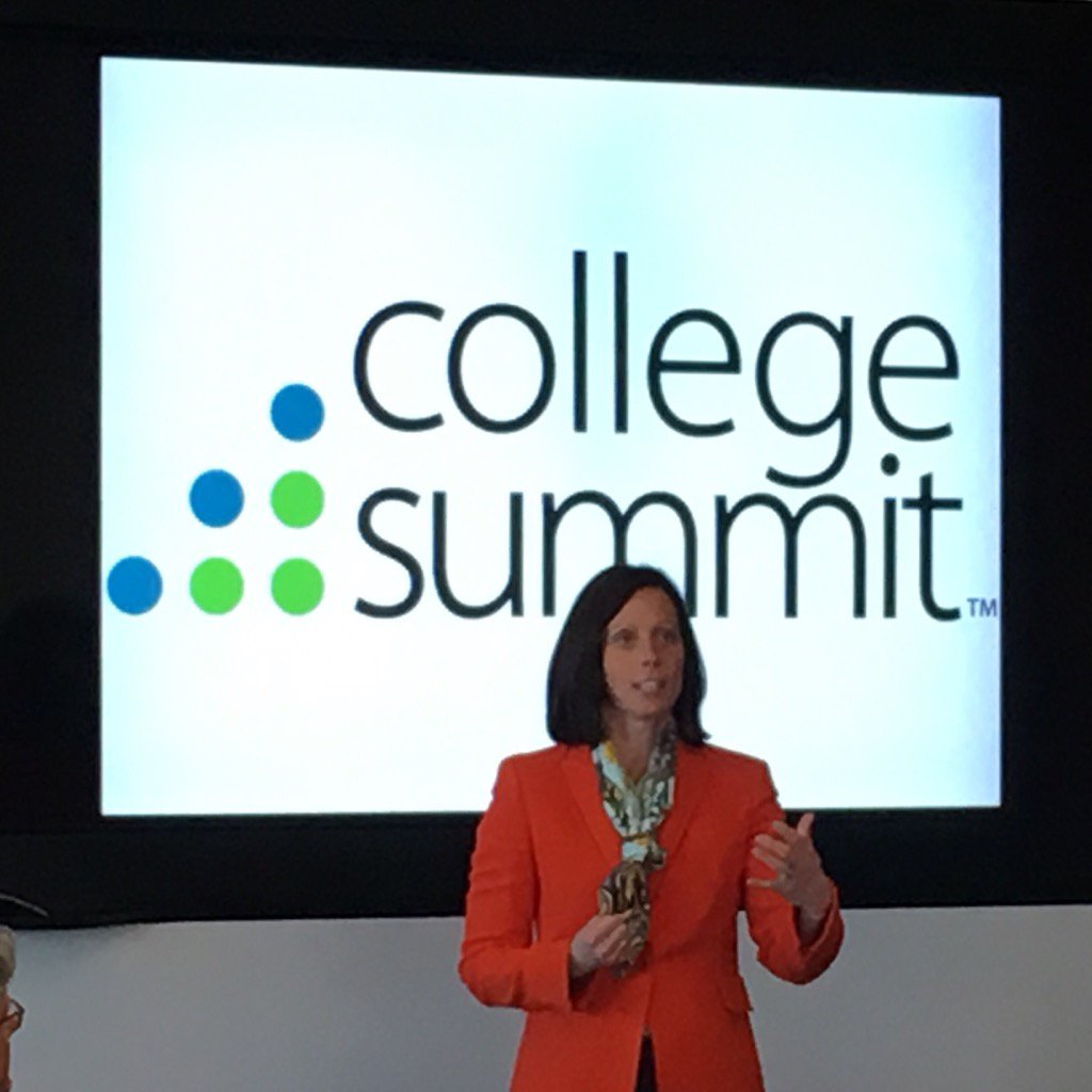 Adena Friedman, head of @NASDAQ speaks at Education Leaders Summit with @KeithFrome @BenCastleman https://t.co/JCaElMWBCg