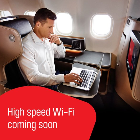 Have you heard? Fast, free inflight wi-fi to arrive in Australian skies: