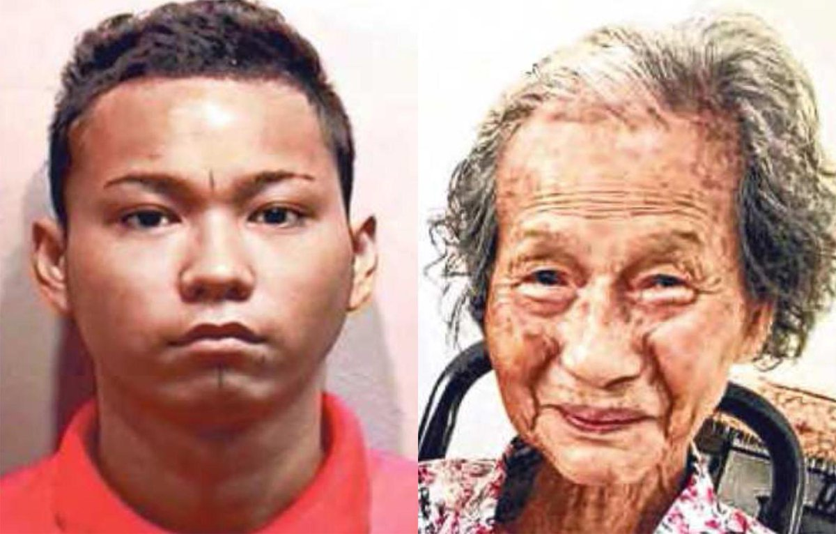 He robbed her and got just $22. His 88-year-old victim lost her life https://t.co/1raoqhy4LF https://t.co/q5nUWSBfoh