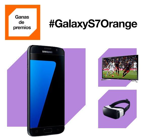 SUPER PROMO #GalaxyS7Orange 32GB + Smart TV J4500 + Gear VR por 39'25€/mes y pago inicial 0€ https://t.co/awtYBxkU8z https://t.co/YATFStlYe6