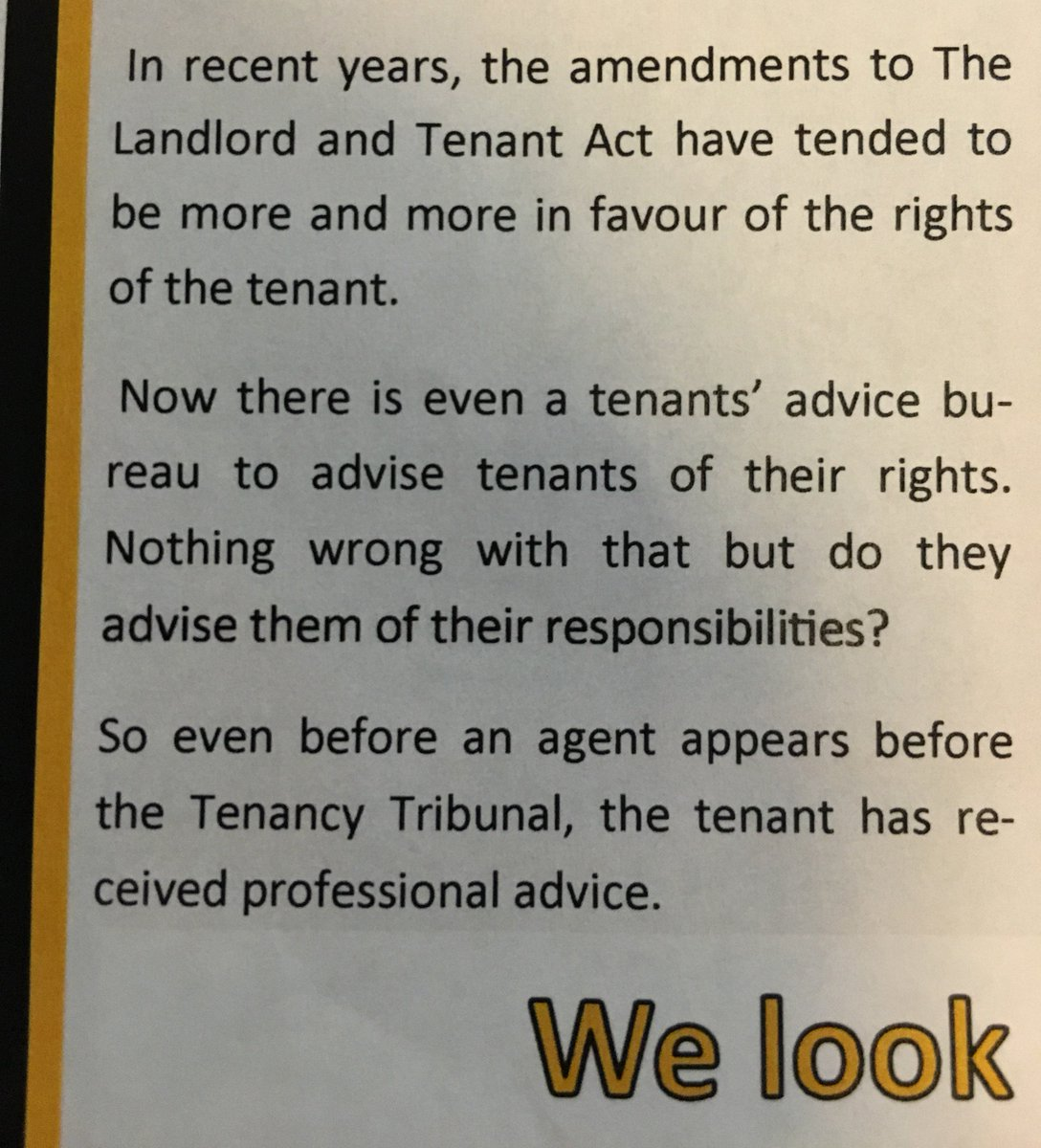 Look at this bullshit from my local real estate. This country has a seriously messed up attitude towards renters. https://t.co/NOCaq8ECKA
