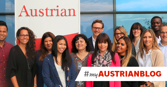 Ever wondered who is taking care of you here on Twitter? The myAustrian Competence Center!