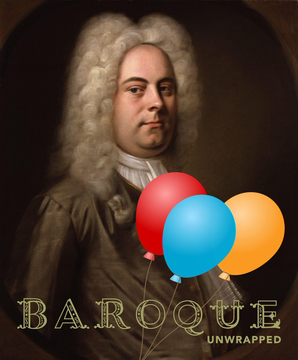 Happy Birthday #Handel! His Brockes-Passion, Acis & Galatea & much more in #BaroqueUnwrapped https://t.co/vznr0M0QnA https://t.co/wr6i0NGpMB