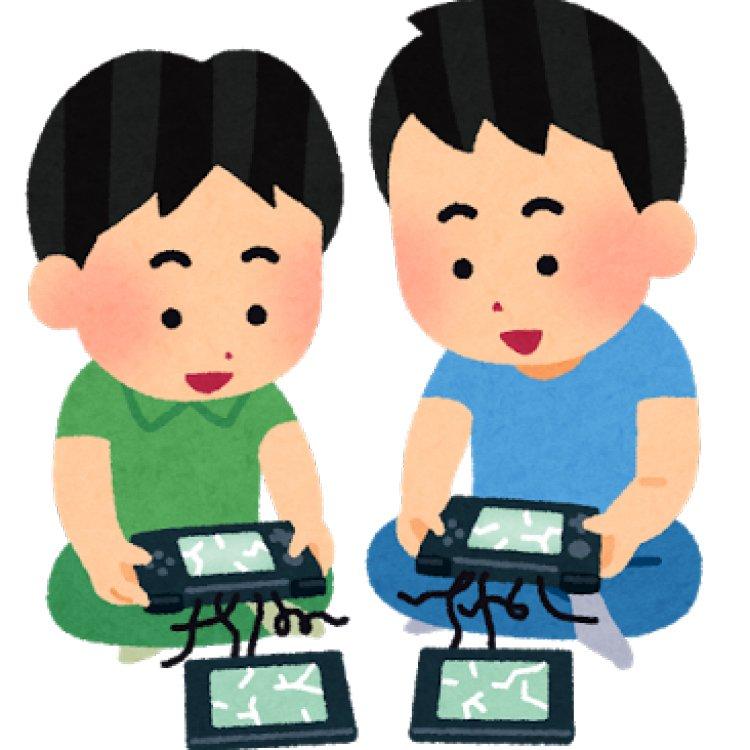 壊れた携帯ゲーム機で遊ぶ子供のイラスト https://t.co/cKqg9AoTbh https://t.co/uH7tzPRrNd