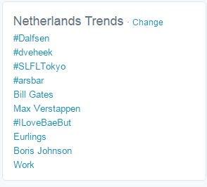 Wauw #dveheek @astridharrewijn is trending topic! https://t.co/ymm2n6aW2a