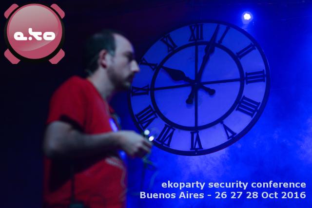 ekoparty security conference 2016: La #eko12 se hace el 26, 27 y 28 de Octubre en el Konex! https://t.co/tTKhVGUy1t