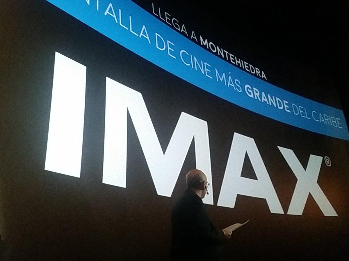 Este verano llega IMAX a #MontehiedraCinemas https://t.co/6Y9DpbdU6e