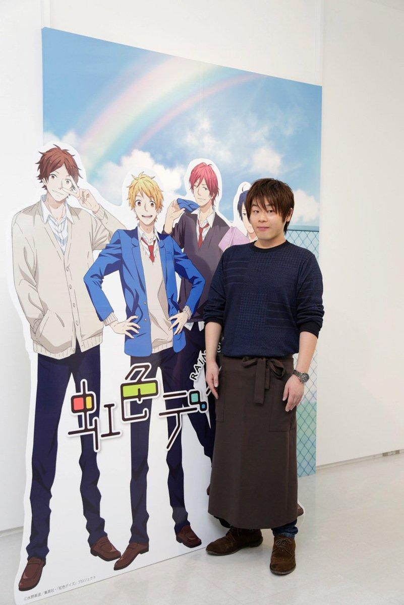 【イベントレポ】渋谷ヒカリエで開催されたアニメ『虹色デイズ』のイベントに松岡禎丞さんが来店し、店長体験。チョコプリンを食