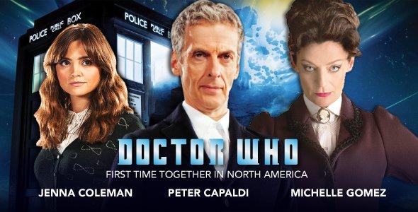 Peter Capaldi makes his US debut at #FanExpoDallas, w/ @Jenna_Coleman_ & @MichelleGomez! https://t.co/3OwhGY6JGO https://t.co/zAOruwXuyV