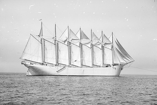 Largest sailing vessel of all time fell victim to rocks off Isles of Scilly https://t.co/XXKByZlaZA https://t.co/cujo2tBI8p