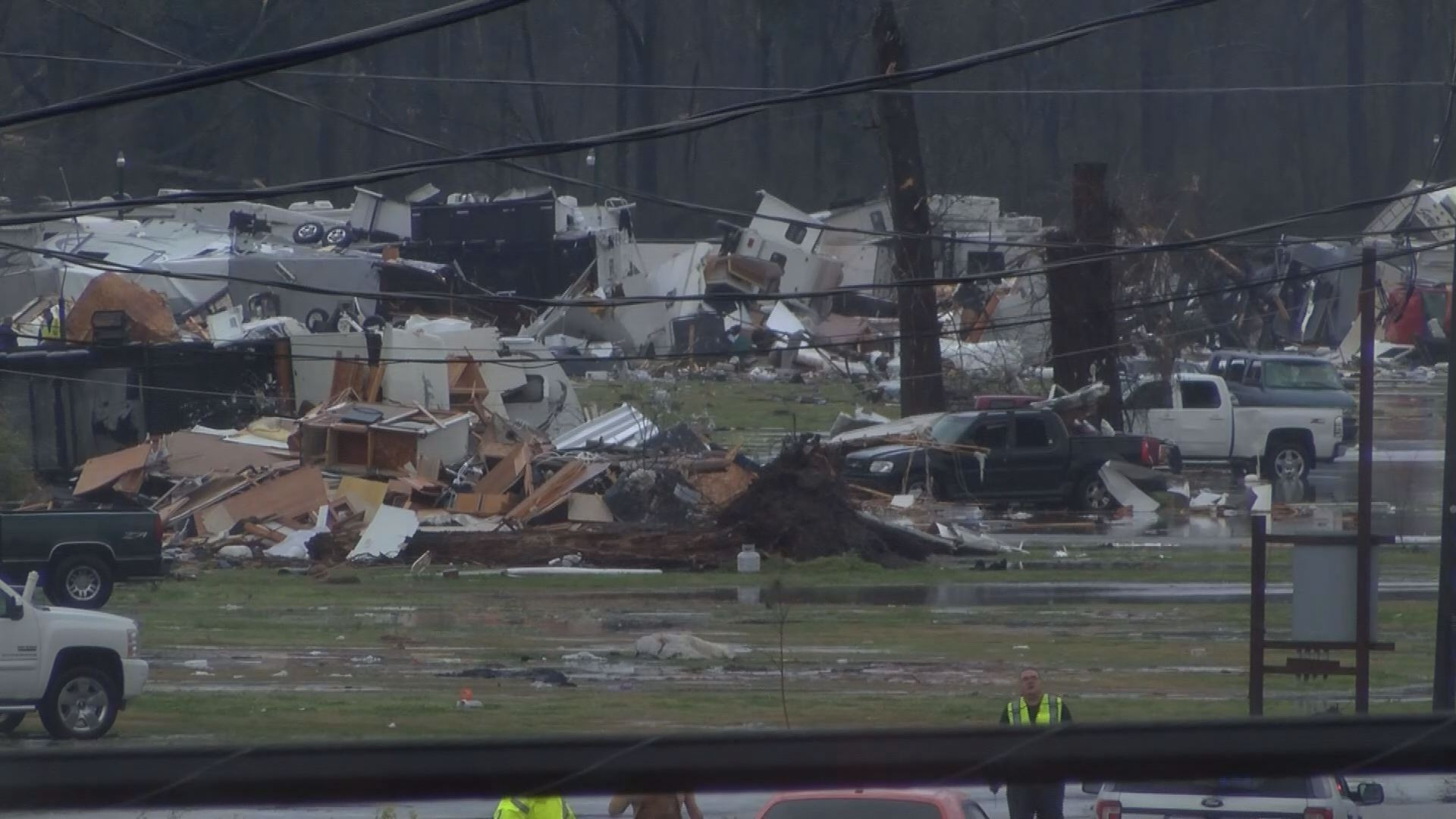 Gut-wrenching picture of the leveled mobile home park in Convent after a #tornado via @FOX8NOLA. #LAwx https://t.co/QIuya7kr8C