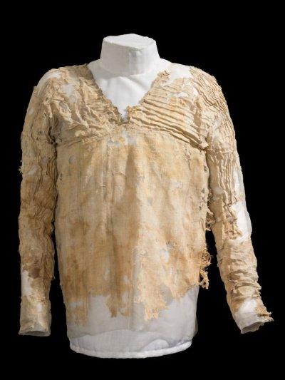 エジプト初期王朝時代のドレス。...