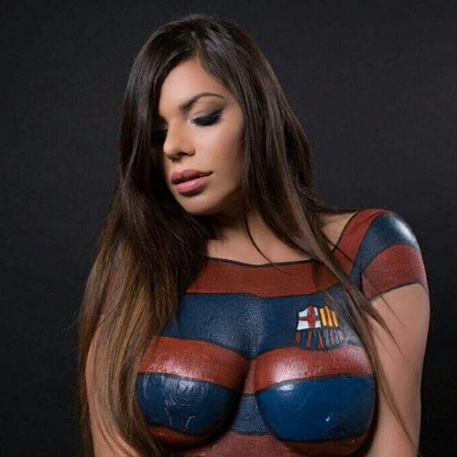 RT @MetroNicaragua: #UCL Así se preparó Miss Bumbum para el juego del Barcelona https://t.co/DsPGFOqbtn (10 FOTOS). https://t.co/h9FRKZjEaQ