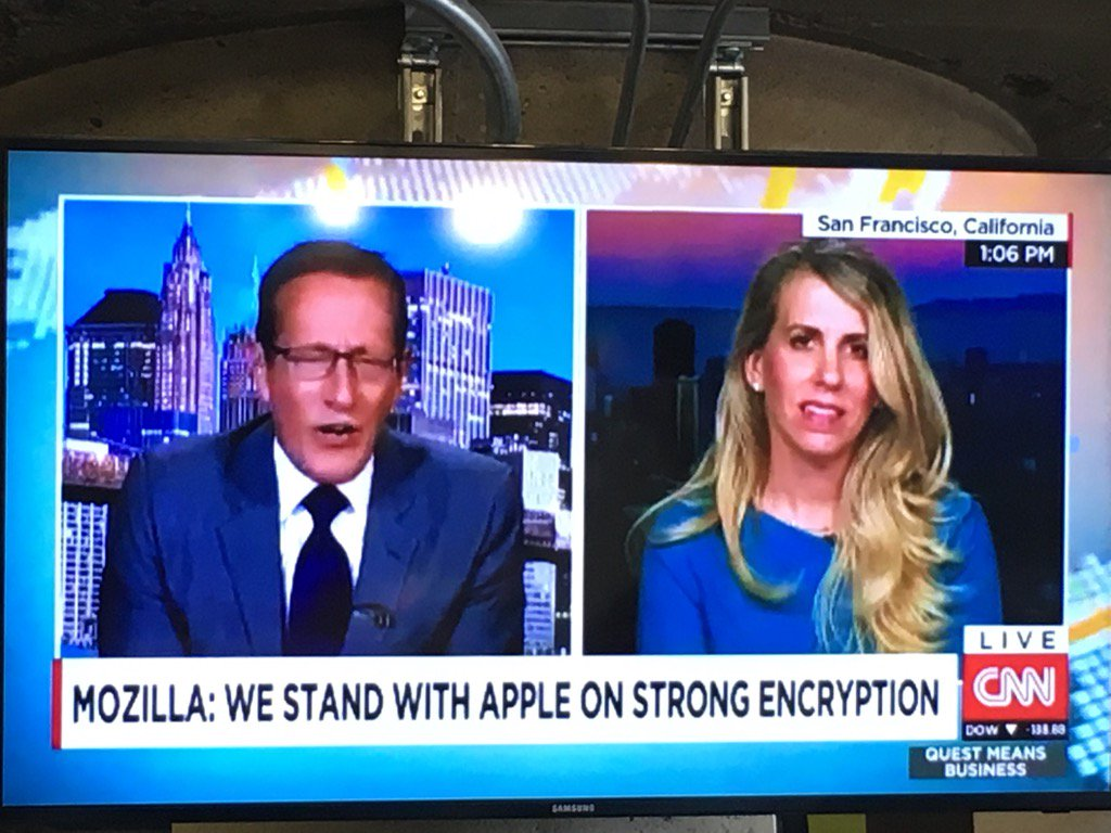 .@Mozilla is standing with Apple! https://t.co/9Fs7PCYEi8