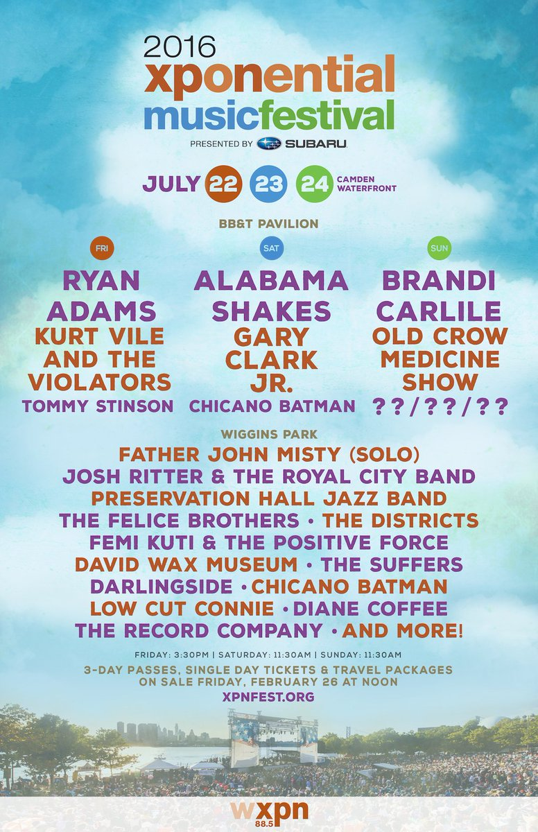 #XPNFest here we come! go to https://t.co/BKdDhg1KZO for all the details. https://t.co/XyDpGLUTG6