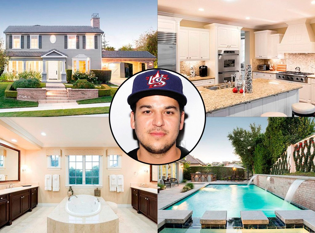 Rob Kardashian just scored a bachelor pad with the help of his famous mama Kris Jenner: