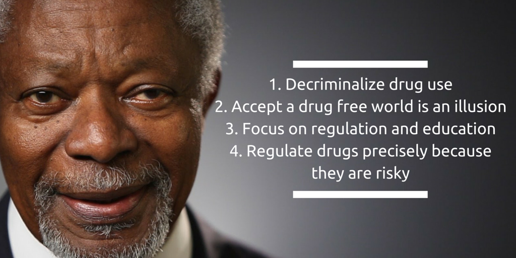 .@KofiAnnan has a 4 step plan for drugs. Looks good to us! Read his full essay here: https://t.co/rtDSFCkUQF https://t.co/RuWNxvZRdC