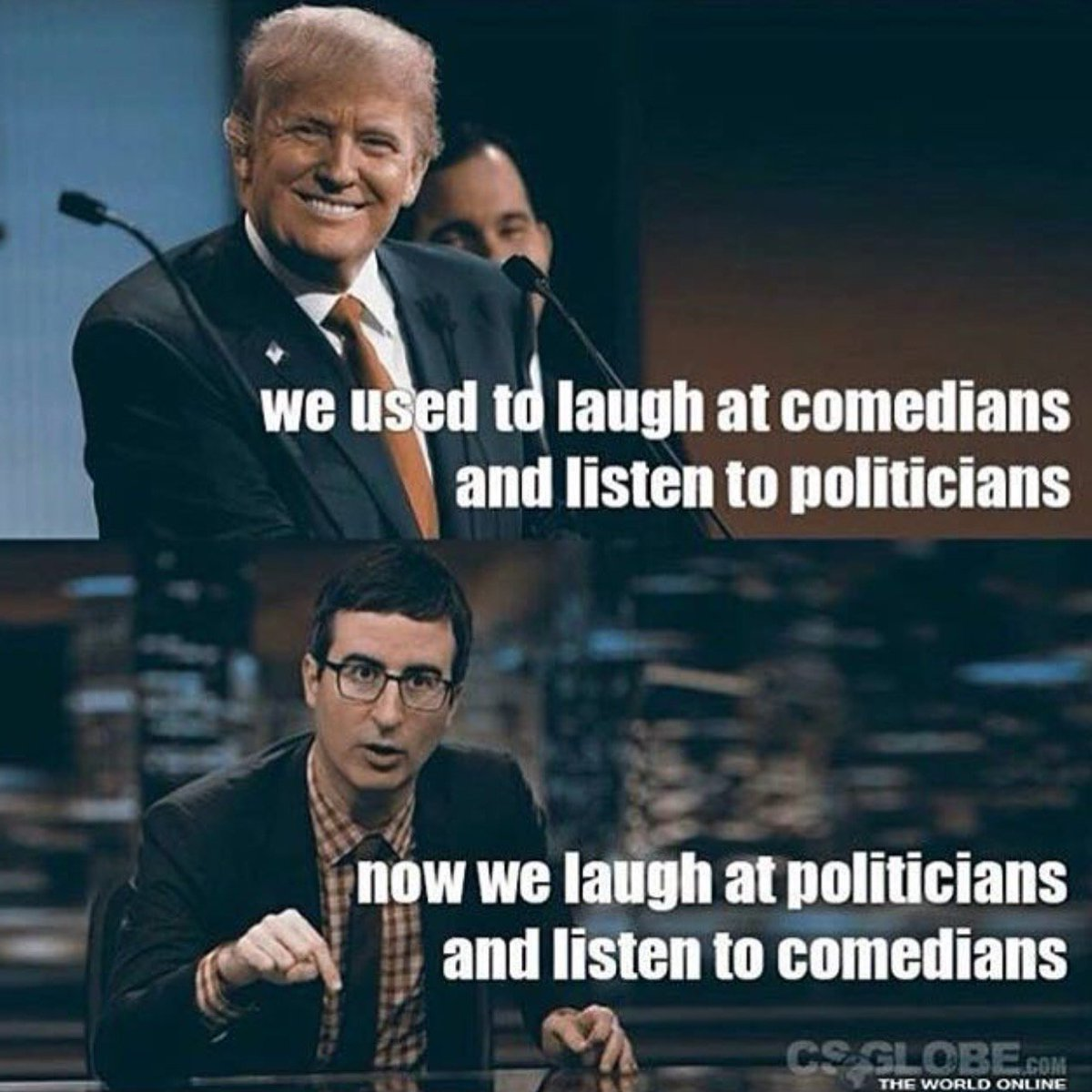 Funny how things change... #politicsorcomedy https://t.co/yVETTEME9t