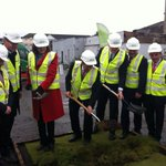 The sod has been turned on the Cork Event Centre. Big day for the Rebel County. #Tv3News @EndaKennyTD @simoncoveney https://t.co/KEE1MvW5Vz