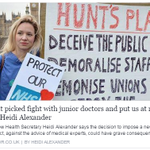 Labours Shadow Health Minister @heidi_mp sets out Hunts failures over #juniordoctors https://t.co/99na5ZtExW https://t.co/MmtIaAVrQd
