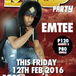 #RollUpParty this FRIDAY featuring @EmteeSA! https://t.co/fLs6Jj0Bjh