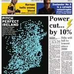 Irish News #frontpage - 10% cut in electric bills means £50 saving a year https://t.co/LIHhqkGchj #NINews https://t.co/HgjzE6c30V