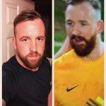 How alike is my brother and Peterborough Uniteds goalie??? ☺ @theposhofficial https://t.co/XVnPFYHRJa