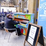 Have fun with our piano in the railway station, there for you to play #coastival Welcome people to @Scarborough_UK https://t.co/dpwFCSHKKd