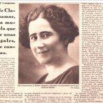 Clara Campoamor fue la primera mujer que intervino en las Cortes #HemerotecaBNE https://t.co/dqlcvUcREX https://t.co/gLugOUNS43
