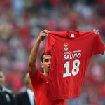 Winger Eduardo Salvio is back in the Benfica squad after an 8 month absence with a knee injury. Welcome back! #UCL https://t.co/0DRAsWVCg6