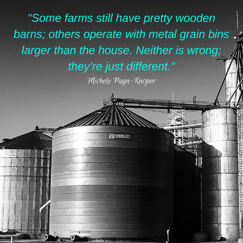 Farms look different and operate differently, but big is not bad - and neither is small. #agchat https://t.co/bfPIKlavaf