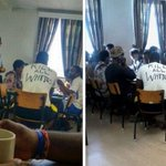 We know who wore Kill all whites shirt, and are pressing charges: UCT https://t.co/xYteKILJLT https://t.co/SM6U1SGXUN