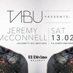 JEREMY McCONNELL Saturday 13th of Feb at El Divino Belfast #Valentinesweekend https://t.co/vmjs1eGRD7