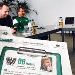 Morgen 06Fragen im Preußen Journal, heute dürften es bei der PK ein paar mehr an H. #Steffen sein. #scphfc #scp06 https://t.co/RZVsMLdgOl