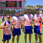 Even the @englandcricket boys getting in the spirit... well done lads! @OfficialCSA @Momentum_za https://t.co/n3ldzExpNz