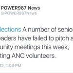 The ANC doesnt care about the Western Cape & has clearly given up on trying to win the province back. #WCElections https://t.co/oTWluVabLw