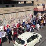 """تظاهرة ثوريّة تنطلق وسط عاصمة الفن الثوريّ باربار ضمن خطوات اليوم الأوّل لـ """"عصيان النمر"""". https://t.co/nvsSF6PSbi"""