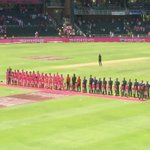 Our beautiful children from CHOC childrens hospital #PinkDay #pinkcricket https://t.co/yiyPBgthys