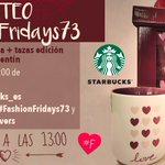 EMPIEZA #FashionFridays73 Sorteo @starbucks_es 1 Haz RT 2 Sigue a tod@s 3 #BesoStarbucksLovers by @TrendyBe https://t.co/qiPykVjuKd