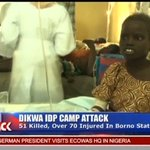 #Nigeria: 58 Killed in Suicide Bomb Attacks in #Dikwa Refugee Camp https://t.co/5yNeOIFlec https://t.co/GTyzuEzsWy