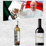 En los vuelos nacionales y en su regreso a Roma  #PapaEnMex @Pontifex_es beberá #vino de @SantoTomas_Mx https://t.co/IWzsUeGpFa