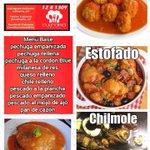 Si no sabes que comer, aquí te ofrecemos Nuestro Menú. #CulinariaCocina #Comida #Cocina #Campeche https://t.co/5kxhzCubNi